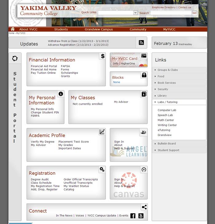 Yvcc Yakima Valley Community College Adaptdesigns